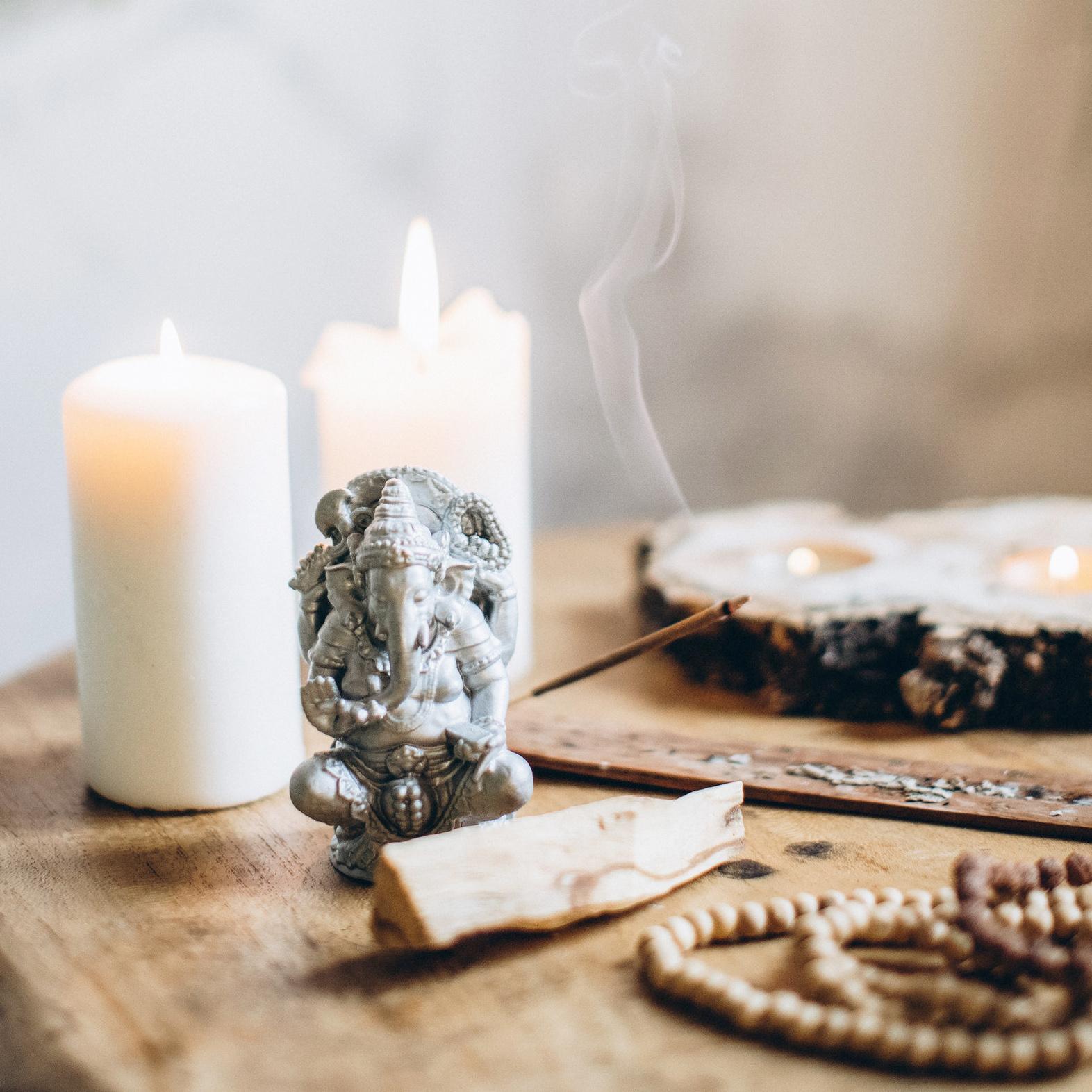 Ароматерапия в медитации